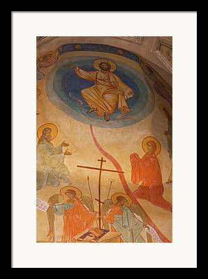 Greek Icon Framed Prints