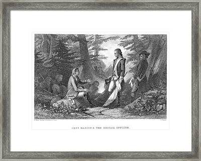 Francis Marion (1732?-1795) Framed Print by Granger