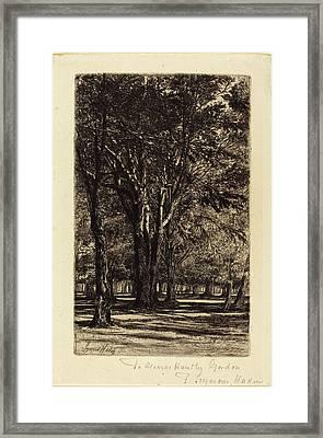 Francis Seymour Haden, British 1818-1910 Framed Print
