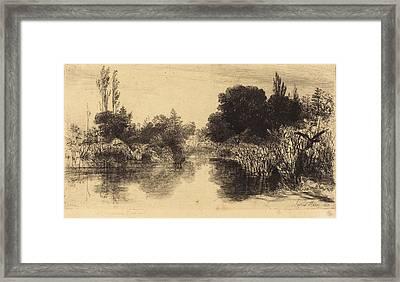 Francis Seymour Haden British, 1818 - 1910 Framed Print