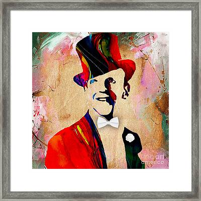 Fred Astaire Collection Framed Print by Marvin Blaine