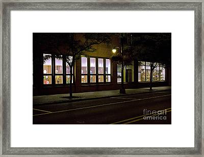 Framed Print featuring the photograph Frederick Carter Storefront 2 by Tom Doud