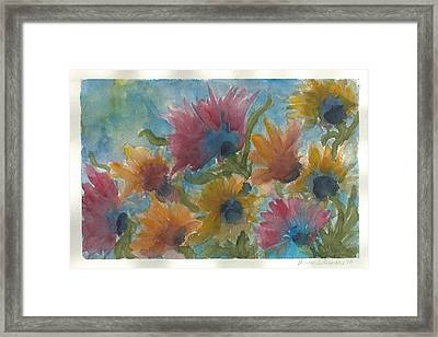Free Spirits Framed Print by Anne Olivier