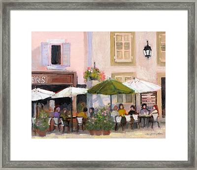 French Country Cafe Il Framed Print