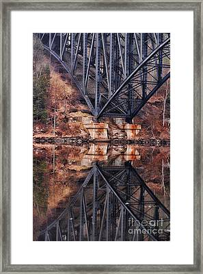 French King Bridge Framed Print