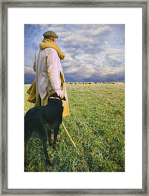 French Shepherd Framed Print