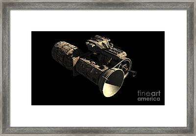 Frenchbulgarian Orbital Weapons Framed Print by Rhys Taylor