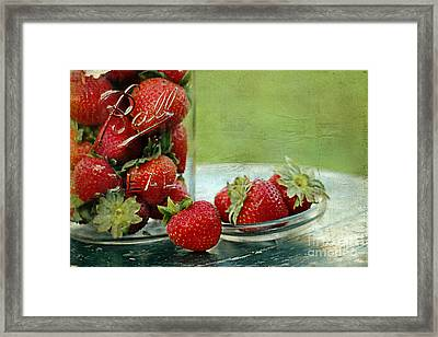 Fresh Berries Framed Print by Darren Fisher