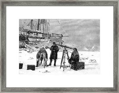Fridtjof Nansen Framed Print