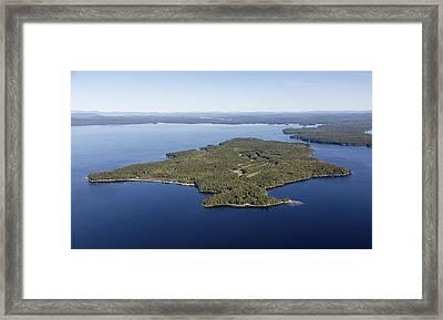 Frye Island, Maine Me Framed Print