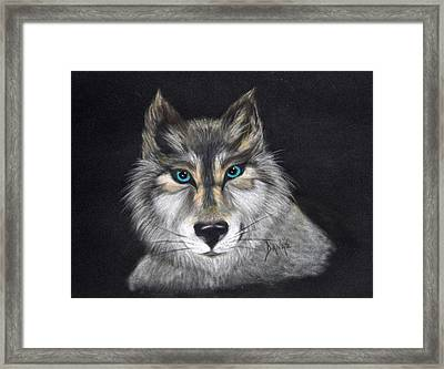 Full Moon Lover Framed Print by Danae McKillop
