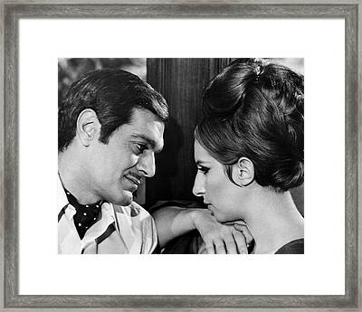 Funny Girl  Framed Print by Silver Screen