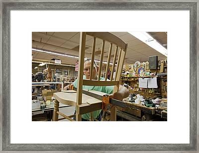 Furniture Crafts Manufacturing Framed Print