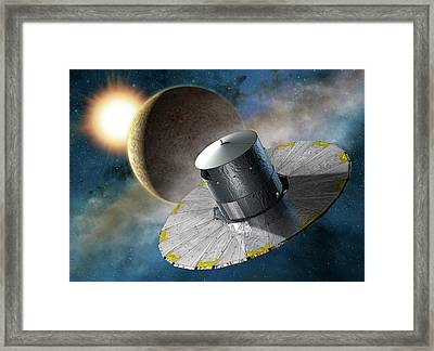 Gaia Space Probe Framed Print by D Ducros/european Space Agency