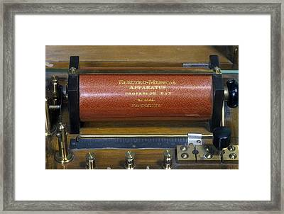 Galvanic Apparatus Framed Print by Science Photo Library