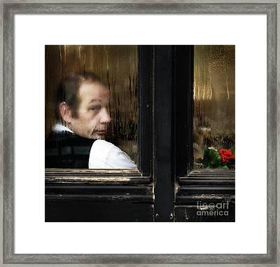 Garcon S'il Vous Plait Framed Print