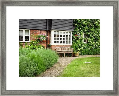 Garden Path Framed Print by Tom Gowanlock