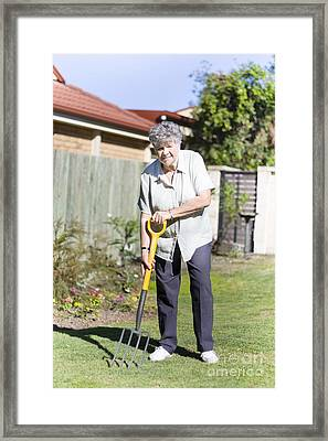 Gardener Framed Print by Jorgo Photography - Wall Art Gallery