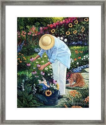 Gardener's Eden Framed Print