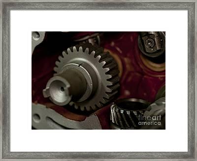 Gears  Framed Print by Wilma  Birdwell