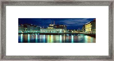 Geneva, Switzerland Framed Print by Panoramic Images