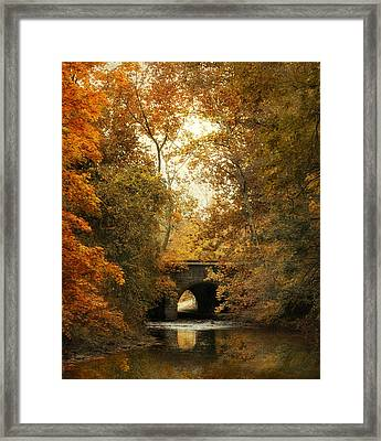 Gentle Reflections Framed Print