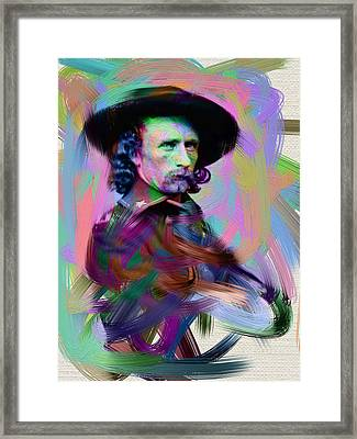 George Armstrong Custer Framed Print by Unknown