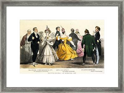 George Brummell (1778-1840) Framed Print