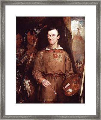 George Catlin (1796-1872) Framed Print by Granger