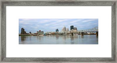George Rogers Clark Memorial Bridge Framed Print