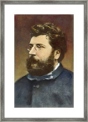 Georges Bizet (1838-1875) Framed Print