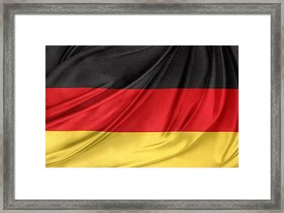 German Flag Framed Print by Les Cunliffe