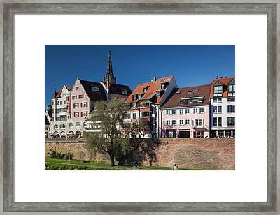 Germany, Baden-wurttemburg, Ulm Framed Print by Walter Bibikow