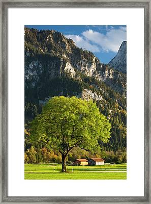 Germany, Bavaria, Hohenschwangau Framed Print by Walter Bibikow