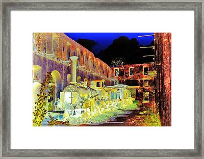 Ghost Train Framed Print by Chuck Staley