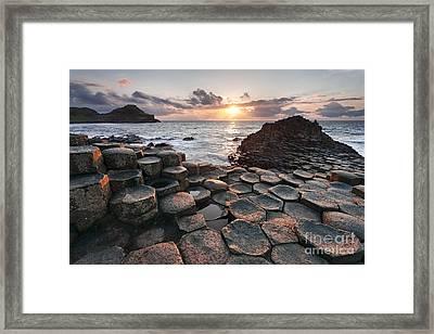 Giant's Causeway 2 Framed Print
