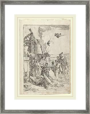 Giovanni Battista Tiepolo Italian, 1696-1770 Framed Print by Litz Collection
