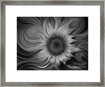 Girasol Dinamico Framed Print
