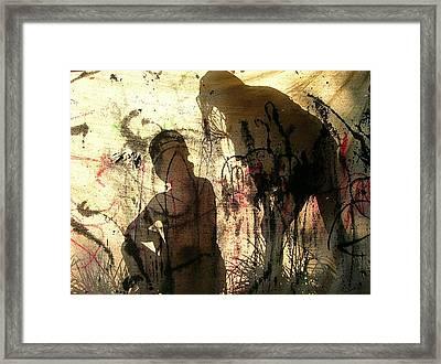 2 Girls Framed Print by Dietrich ralph  Katz