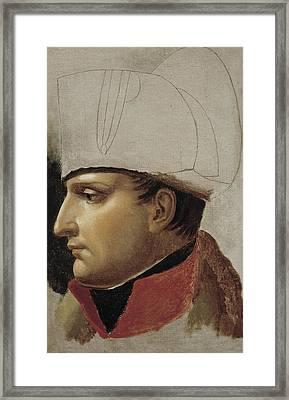Girodet-trioson, Anne Louis Girodet De Framed Print
