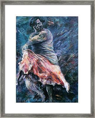 Gitana Framed Print