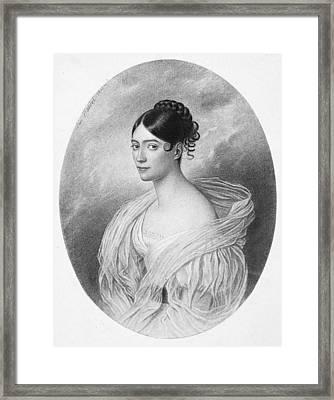 Giuditta Pasta (1798-1865) Framed Print by Granger