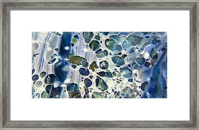 Glacial Framed Print