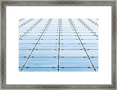 Glass Building Framed Print