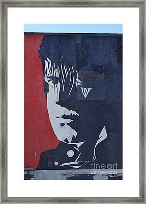 Glen Danzig Framed Print by Allen Beatty