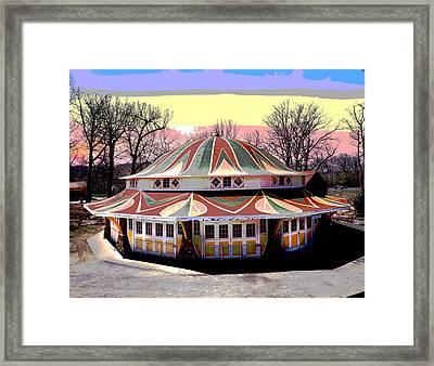 Glen Echo Park Framed Print by Charles Shoup