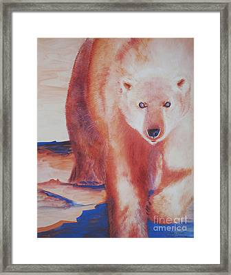 Global Warning Framed Print by Tracy L Teeter