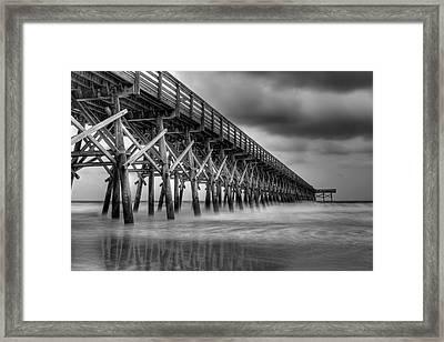 Gloomy Morning Framed Print