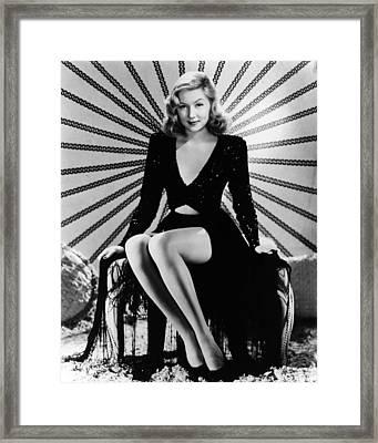 Gloria Grahame Framed Print