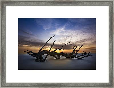 Glory Framed Print by Debra and Dave Vanderlaan